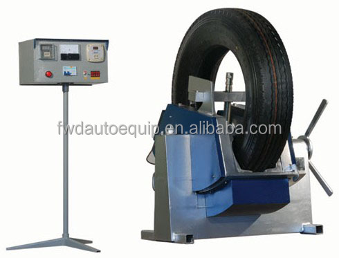 Good tyre partial vulcanizing making machine for sale