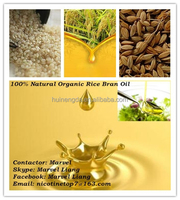 Pure Natural Professional Organic Rice Bran Oil hot selling