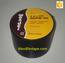 Wonder Stronger Adhesive Pipe Wrap Anti Corrosion Protection PVC Black Tape