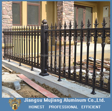 Aluminum alloy fence and gate design for house and garden/aluminum fence for villas homes garden