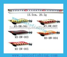 9+ years wholesaler Hirun fishing tackle High quality M3-HW squid jig fishing lures