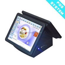 "15""17"" dual screens touch epos system 19"" all in one dual screen touch pos terminal"