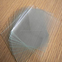 0.33mm tempered glass/clear ultra thin glass sheet