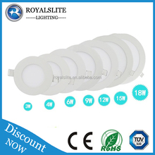 3w 5w 7w 9w Round Led Light Panel, Energy Saving Led lamp