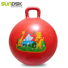 SUNDSK pvc custom space hopper ball with handle