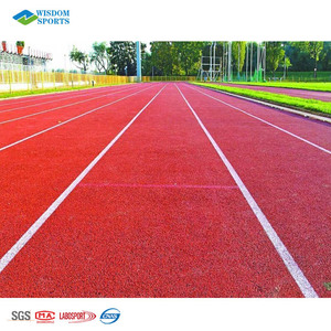 2018 High Quality Plastic Runway Materials Rubber Athletic Track