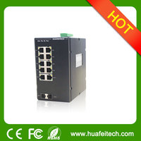 10 port Ruggedcom Managed 1000M Industrial Ethernet Switch