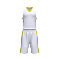Top Quality Cheap Custom Design Sublimation Basketball Uniform