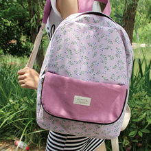 LANGUO 2014 fashion trend cute pink backpack for the girl/travelling bag for girl model:HYSJ3-332