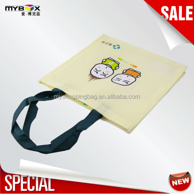 two little boy with little hair PP nonwoven bag obag