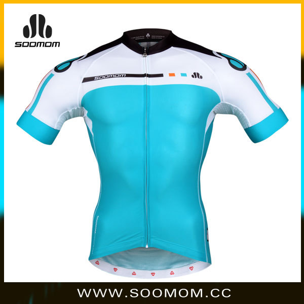 3D cut breathable top quality summer ropa de ciclismo custom cycling jersey fabricas en China OEM/ODM no minimum