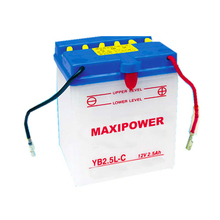 12v6ah high performance dry charged motorcycle battery