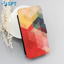 sublimation Heat transfer printing leather mobile phone case
