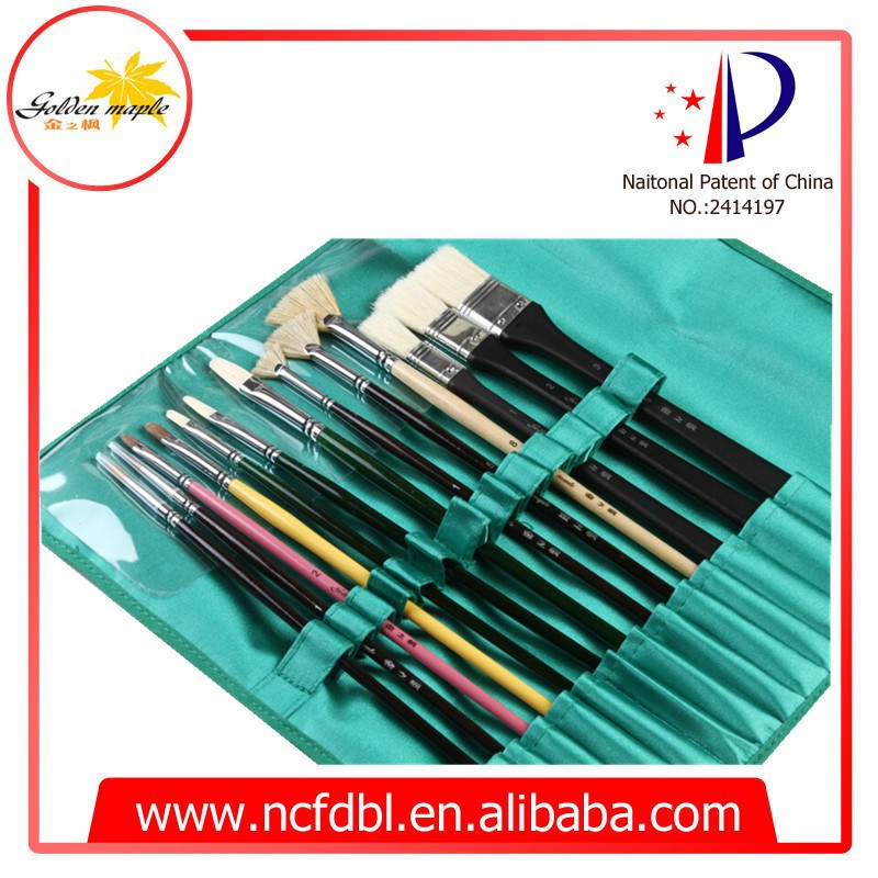 Artist Drawing Brushes Kit 13 pcs with Blue Bag Package