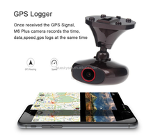 new design Ddpai M6 Plus HD1440P WIFI Car Dashcam Video Record DVR GPS Camera 2016