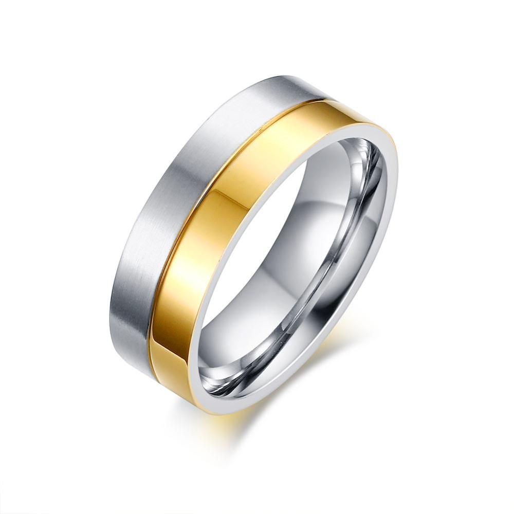 Direct manufacturers, titanium steel jewelry wholesale spot, the Korean version temperament lovers ring YSS701