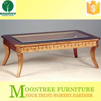 Moontree MCT-1124 china furniture supplier exotic wooden coffee table