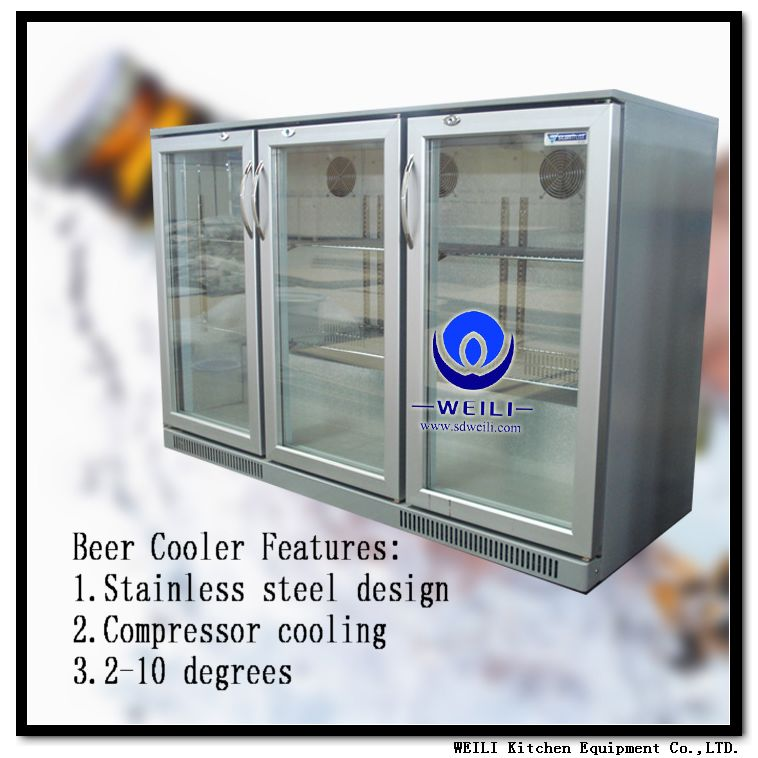 self-closing in door freezer beer bar frezer