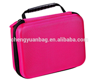 Top Quality Black EVA Carrying and Travel Protective Bag Case for Go Pro He ro3+/3/2/1 Camera and Accessories