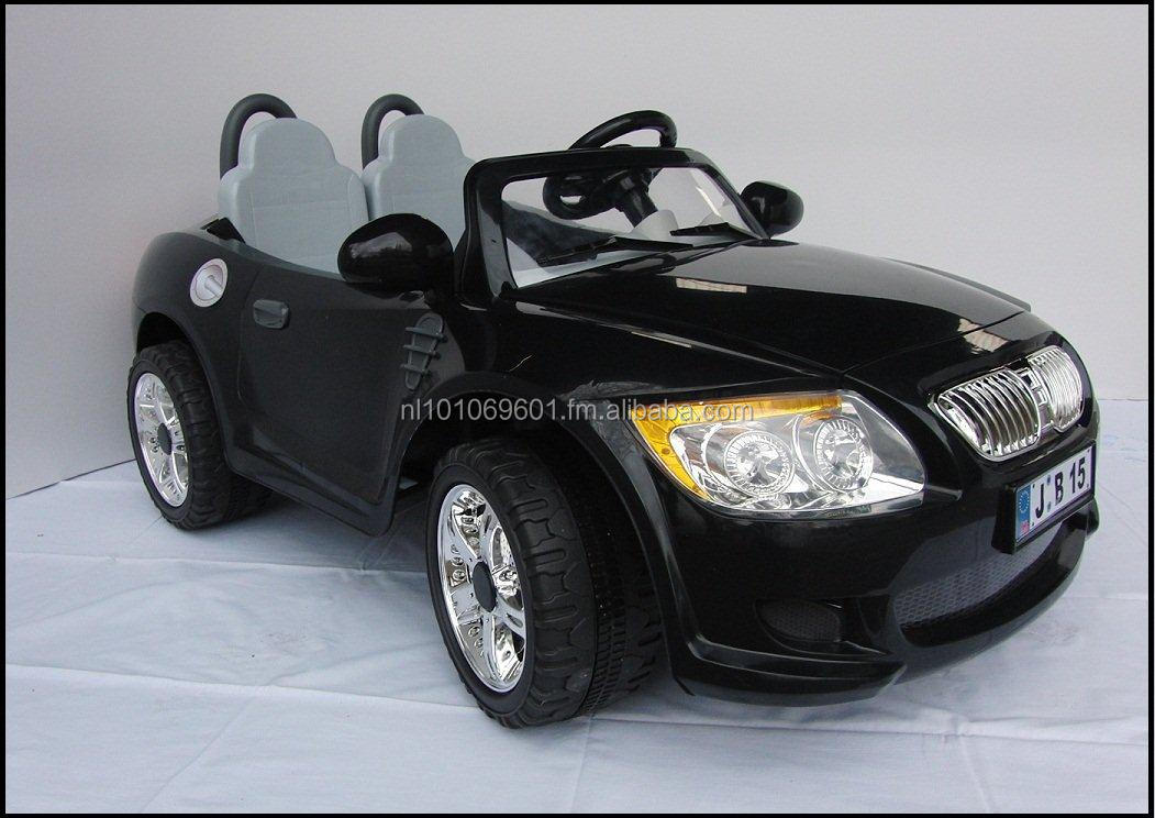 Battery car fully 2 seat, 12V double motor, Colour Black, FM radio , RC steering