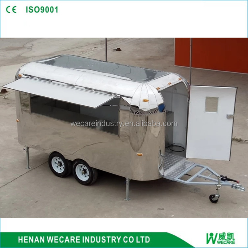 Hot Sale Outdoor Mobile Food Cart Tricycle Ice Cream Trailer design