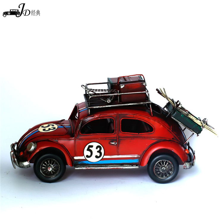 Factory Sale trendy style hand carved iron car model fast delivery