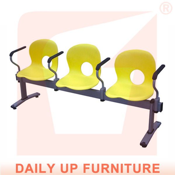 Heavy Duty Outdoor Plastic Bench Seats Airport Station Waiting Room Chair Price Best Selling Products In Europe