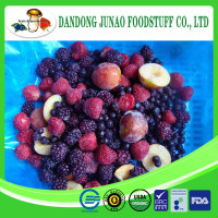 Fresh Frozen mixed fruits include red plum