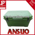Outdoor fishing plastic cooler box