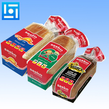 Gravure printing laminated plastic bread bag high temperature resistance bakery bread bag