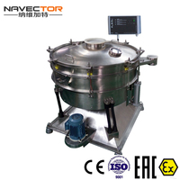 spice application particle separation sieve machine