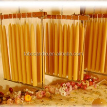 cone candle/taper candles 3x6 for church using