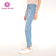 High quality rips legging distributors women jeans