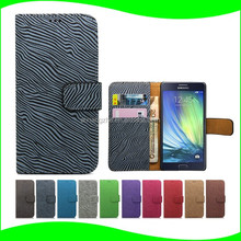 used mobile phones PU Leather wallet cover case for alcatel onetouch price, smart phone case for lenovo a368t