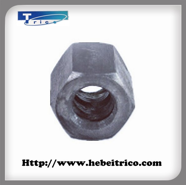 Construction Formwork Ducitle Iron Casting Hex Nut for Tie Rod 15mm