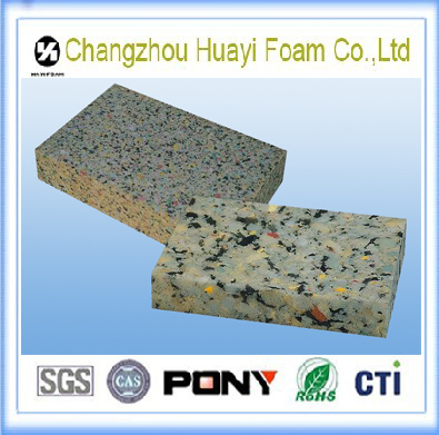 high density recycled pu foam