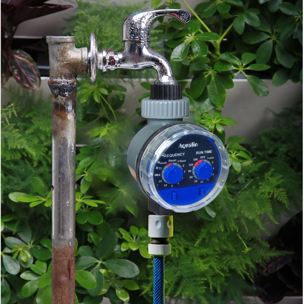 Garde Watering Timer Ball Valve Automatic Electronic Water Timer Home Garden Irrigation Controller System