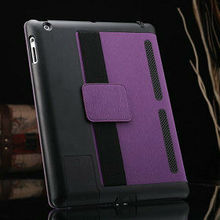2015 Wholesale China New Special stand cover for ipad 5, leather flip case for ipad air, leather case for ipad 5