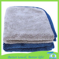 Coral Fleece Thicken microfiber car detailing towel