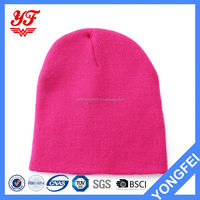 FACTORY DIRECTLY unique design knitted winter hat from China
