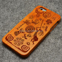 Laser engrave real wood phone case the tribe maya shape custom phone case phone case wood for iphone 5 5C 5S 5se