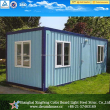 Prefab container kit home/modular warm house/cheap container home for sale