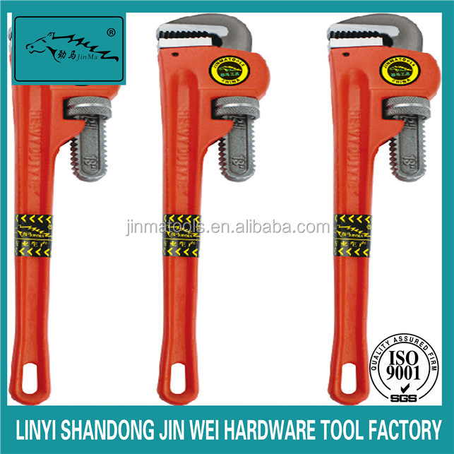 cheap pipe wrenches/jinma brand production