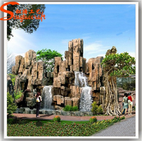 Prefab wholesale indoor fountains wall artificial waterfalls for home Add to My Favorites