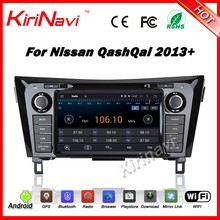 Kirinavi WC-NU8052 android 5.1 gps stereo for nissan qashqai 2013+ car radio navigation 2 din dvd player