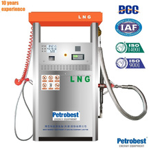 LNG dispenser for vehicle in LNG fueling station