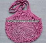 organic cotton bags pink colors draw string jewelry pouch