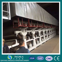 Brown ribbed kraft paper roll making machinery/ paper processing machinery