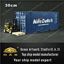container model 1:20 20GP NILEDUTCH shipping container model miniature shipping container scale model