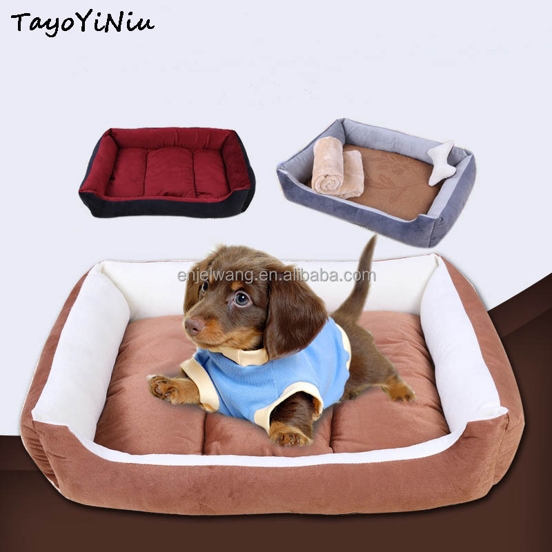 Removable All Seasons Warming Dog Sofa Pets Cushion Mat Luxury Dog Bed S/M/<strong>L</strong>